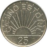 25 Escudos - Casino Estoril – obverse