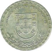 Token - Grandes Figuras Portuguesas (Gil Vicente) – reverse