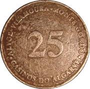 25 Escudos - Casino de Monte Gordo (Algarve) – reverse