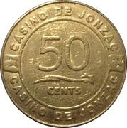 50 Cents - Casino Jonzac – reverse