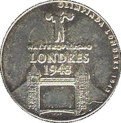 Olympic Token (1948 Londres) – obverse