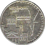 Olympic Token (1952 Helsínquia) – obverse