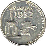 Olympic Token (1932 Los Angeles) – obverse