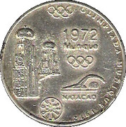 Olympic Token (1972 Munique) – obverse