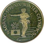 Token - Nagano XIX Winter Olympics 1998 – reverse