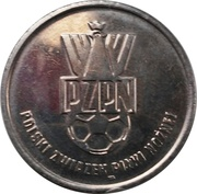 Token - PZPN (Jacek Bąk Obrońca) – reverse
