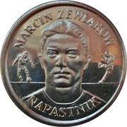 Token - PZPN (Marcin Żewłakow Napastnik) – obverse