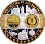 Token - Europe (San-Marino; 50 Lire) – obverse