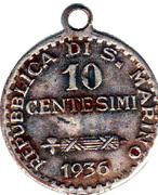 10 Centesimi – obverse