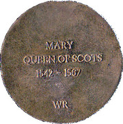 Replica - Mary Queen of Scots – reverse