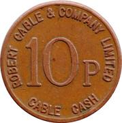10 Pence - Robert Cable & Company (Scotland) – reverse
