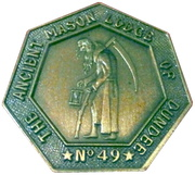Token - Lodge Dundee – obverse