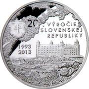 20th Anniversary of the Slovak republic – obverse