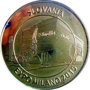 JETON - EXPO MILANO 2015 -SLOVAKIA – obverse