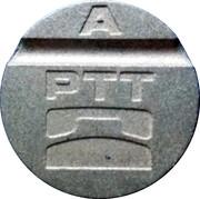 Telephone Token - PTT A – obverse