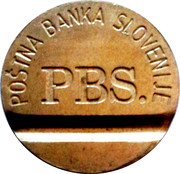 Telephone Token - PTT A (PBS) – obverse