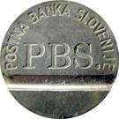 Telephone Token - PTT B (PBS) – obverse