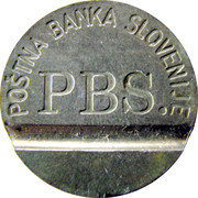 Telephone Token - PTT B (PBS) – obverse