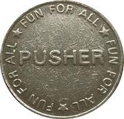 Pusher token – obverse