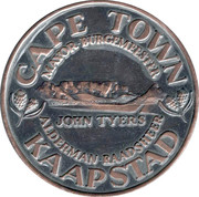 Cape Town Mayor - John Taylor – obverse