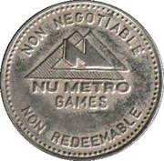Game Token - Nu Metro Games – obverse