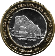 10 Dollar Gaming Token - Barbary Coast (Las Vegas) – obverse