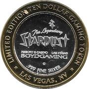 10 Dollar Gaming Token - Stardust (Las Vegas) – obverse