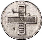 Token - Paul I (Coronation) – reverse