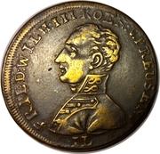 Counter Token - Friedrich Wilhelm III – obverse