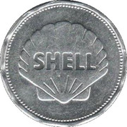 Shell Token - Man In Flight (Graf Zeppelin 1928) – reverse
