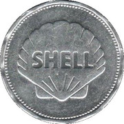 Shell Token - Man In Flight (Louis Bleriot 1909) – reverse