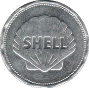 Shell Token - Man In Flight (De Havilland Comet 1952) – reverse