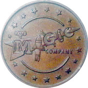 Game Token - The Magic Company – obverse