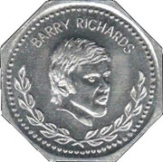 BP Token - Past South African Sport Stars (Barry Richards) – obverse