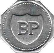 BP Token - Past South African Sport Stars (Bob Hewitt) – reverse
