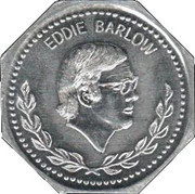 BP Token - Past South African Sport Stars (Eddie Barlow) – obverse
