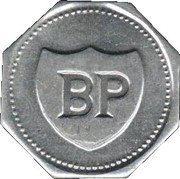 BP Token - Past South African Sport Stars (Frik du Preez) – reverse