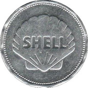 Shell Token - Man In Flight (Bell XS1 1947) – reverse
