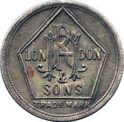 6 Pence - RH Hovenden & Sons (London) – obverse