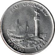 Token - Dias (Sao Gregoria) – obverse