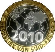 Token - Football World Cup 2010 (Brazil) – reverse