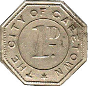 1 Penny - Cape Town City Catering Department – obverse