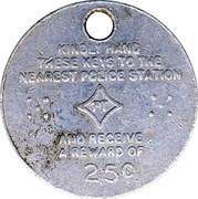 Token - Lost key reward – obverse