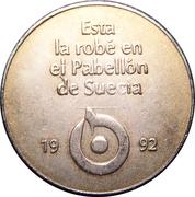 Token - Sevilla Expo'92 (Swedish Pavilion) – obverse