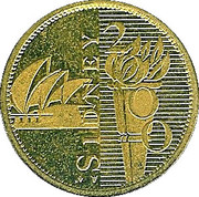 Token - Sydney 2000 - XXVII Olympic Games – obverse
