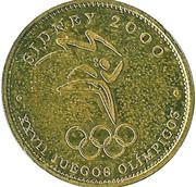 Token - Sydney 2000 - XXVII Olympic Games – reverse