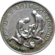 Christian medal – obverse