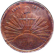 Spanish Ephemeris Medal (Los Democratas Republicanos) – obverse