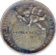 Jewelry token (Relojeria Barcelona) – reverse