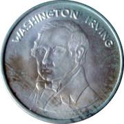 Washington Irving - Cara Y Cruz de Nuestra Historia 1994 – obverse